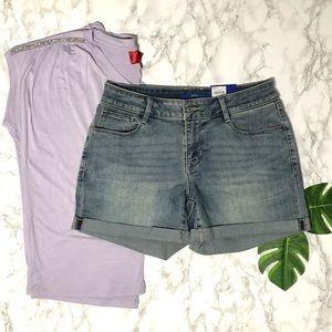 🆕w/🏷 Apt. 9  Mid Rise Denim Shorts